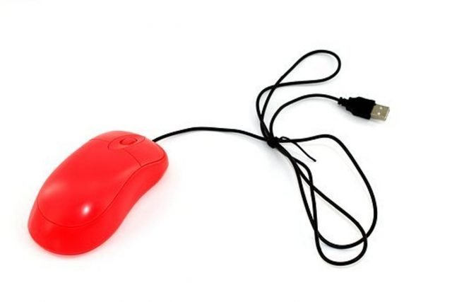 Logitech wired mouse
